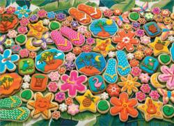 Tropical Cookies Sweets Jigsaw Puzzle