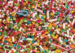 Candy Pattern / Assortment Jigsaw Puzzle