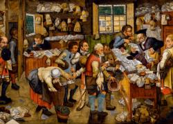The Payment of the Tithes (Breughel) Fine Art Jigsaw Puzzle