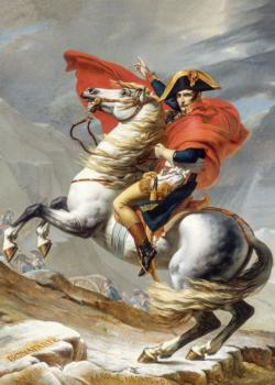 Napoleon Crossing the Alps (David) Military / Warfare Jigsaw Puzzle