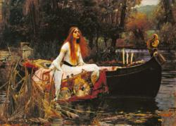The Lady of Shalott (Waterhouse) Pre-Raphaelite Art Jigsaw Puzzle