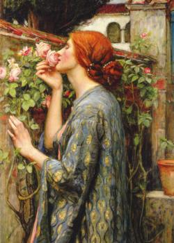 The Soul of the Rose (Waterhouse) Pre-Raphaelite Art Jigsaw Puzzle