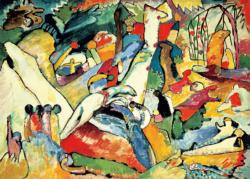 Sketch for Composition II (Kandinsky) Contemporary & Modern Art Jigsaw Puzzle