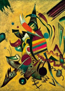 Points (Kandinsky) Contemporary & Modern Art Jigsaw Puzzle