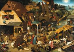 Netherlandish Proverbs Renaissance Jigsaw Puzzle