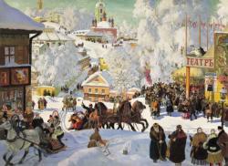 Maslenitsa Snow Jigsaw Puzzle
