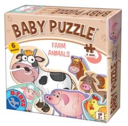 Farm Animals (baby puzzles) Baby Animals Multi-Pack