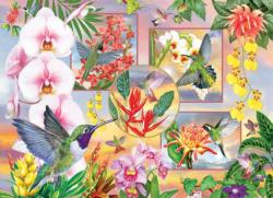 Hummingbird Magic Collage Jigsaw Puzzle