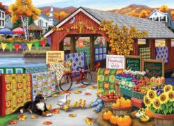 Harvest Festival Shopping Jigsaw Puzzle