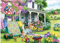 Spring Cleaning Spring Jigsaw Puzzle