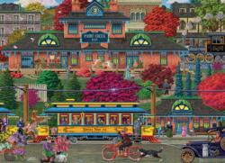 Trolley Station Trains Jigsaw Puzzle