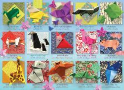 Origami Animals Asian Art Jigsaw Puzzle