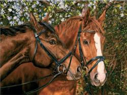Friends Forever Horses Large Piece