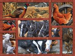 Farmyard Friends Horses Jigsaw Puzzle