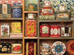 Tea Caddies Nostalgic / Retro Large Piece