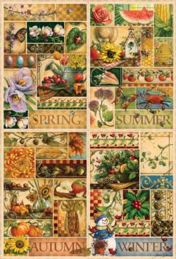 The Four Seasons Nature Jigsaw Puzzle
