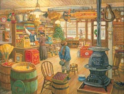 Country Wishes General Store Jigsaw Puzzle