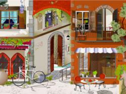 Parisian Cafe Paris Jigsaw Puzzle