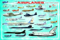 Airplanes (Small Box) Pattern / Assortment Jigsaw Puzzle