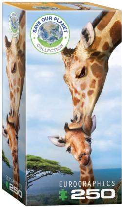 Giraffe Family Fun Jigsaw Puzzle
