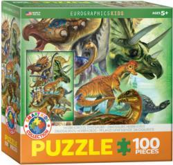 Herbivorous Dinosaurs Dinosaurs Jigsaw Puzzle