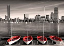 Boston Marina Skyline / Cityscape Jigsaw Puzzle
