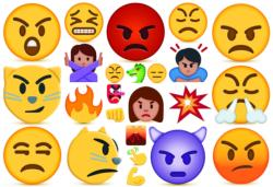 Anger  (Emojipuzzle) Collage Children's Puzzles