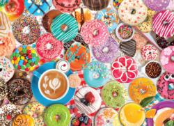Donut Party Sweets Jigsaw Puzzle