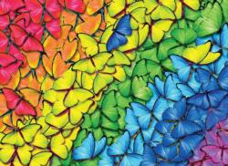 Butterfly Rainbow Butterflies and Insects Jigsaw Puzzle
