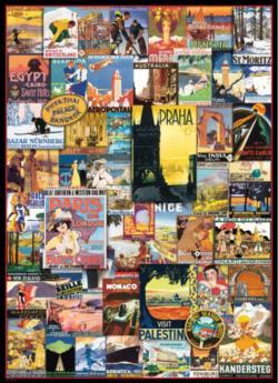 Travel the World Vintage Posters Nostalgic / Retro