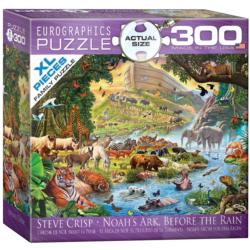 Noah's Ark Before the Rain Jungle Animals Jigsaw Puzzle