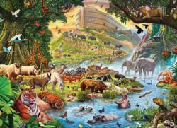 Noah's Ark, Before the Rain Boats Large Piece