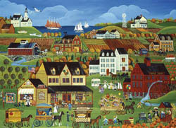 Harvest Days in Cove Point Fall Jigsaw Puzzle