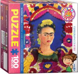 Frida Self Portrait Fine Art Jigsaw Puzzle