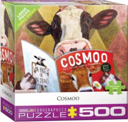 Cosmoo Farm Animals Jigsaw Puzzle