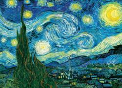 Starry Night Van Gogh Starry Night Children's Puzzles