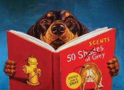 50 Scents of Grey Dogs Jigsaw Puzzle