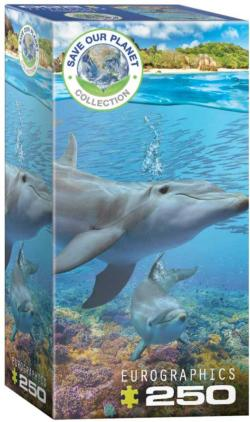 Dolphins Family Fun Jigsaw Puzzle