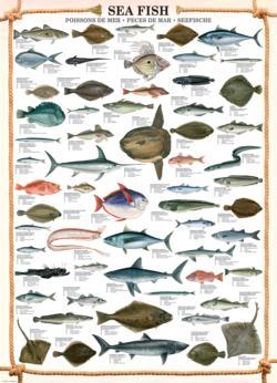 Sea Fish Fish Jigsaw Puzzle