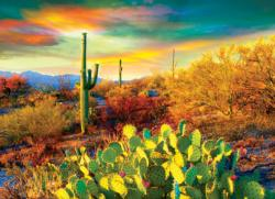 Desert Dreams Sunrise/Sunset Jigsaw Puzzle