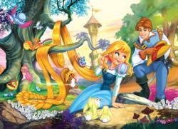 Beautiful Hair Princess Children's Puzzles