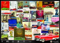 Cadillac  (Vintage Car Ads ) Pattern / Assortment Jigsaw Puzzle