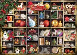 Christmas Ornaments Pattern / Assortment Jigsaw Puzzle
