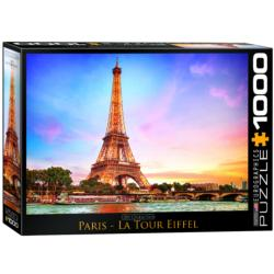 Paris Eiffel Tower Landmarks Jigsaw Puzzle