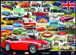 British Motor Heritage Collection Pattern / Assortment Jigsaw Puzzle