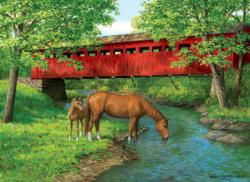 Sweet Water Bridge Bridges Jigsaw Puzzle