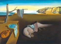 The Persistence of Memory Surreal Jigsaw Puzzle