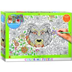 Tiger (Color-Me Puzzle) Tigers Coloring Puzzle