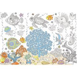 Aquarium (Color-Me Puzzle) Fish Coloring Puzzle