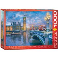 Christmas Eve in London - Scratch and Dent Lakes / Rivers / Streams Jigsaw Puzzle